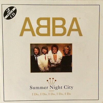 ABBA Summer Night City 2 Track Card CD Single 1993 *Mamma Mia Here We Go Again