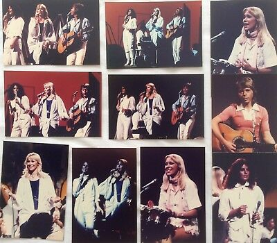 ABBA on Olivia Newton John US TV Show '78 Photo Set *Mamma Mia Frida Agnetha ONJ