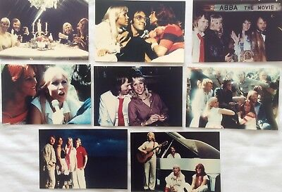 ABBA The Movie / Album Photo Set *Mamma Mia Frida Agnetha Eagle Gimme SOS