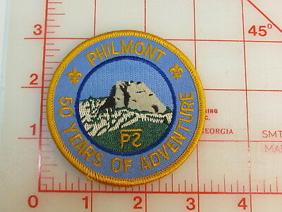 Philmont Scout Ranch 50 years of Adventure collectible patch   (oT)