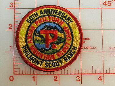 Philmont Scout Ranch 60th Anniversary collectible patch   (oT)