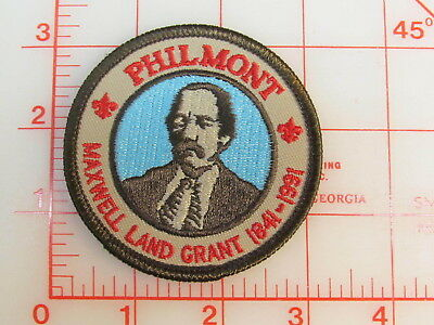 Philmont Scout Ranch Maxwell Land Grant 1841 - 1991 collectible patch   (oT)