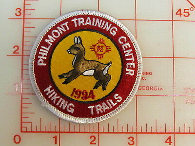 Philmont Training Center 1994 Hiking Trails  collectible patch   (oT)