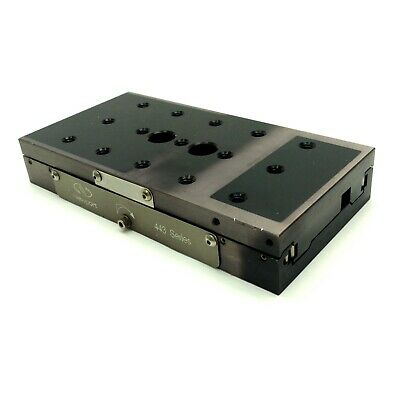 Newport 443 Single Axis Linear Stage, 46mm Travel, 258N Load, 1/4-20, 6 x 3 x 1""