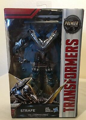 Transformers The Last Knight Premier Edition Strafe Deluxe class Figure Dinobots