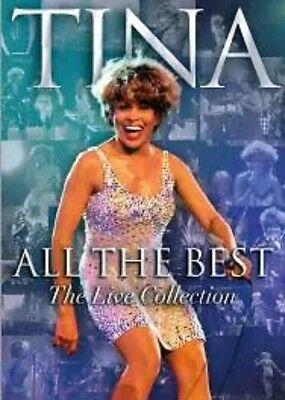 Tina Turner - All The Best (DVD, 2005) the Live Collection Fast Post