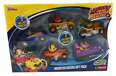 Fisher-Price Disney Mickey And The Roadster Racers 5-pack of Cars!