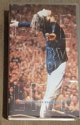 INXS - Live Baby Live (Wembley Stadium, 1991) ~VHS~ *Video Cassette*