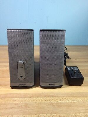 Bose Companion 2 Series II Computer Speakers w Original Power Supply TESTED