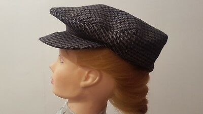 c4b5d93ea49 HARRODS KNIGHTSBRIDGE MANS Shop Kid Cap Hat English Rare 100% Wool Rare 6  3 4 55 - £14.99