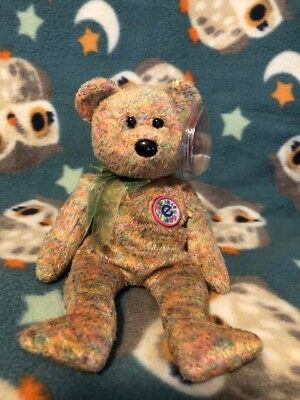 Ty Beanie Baby Babies Speckles - Bear Internet Exclusive 2000
