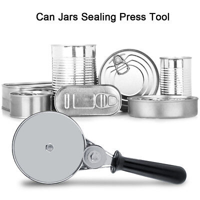 Stainless Steel Hand Tool Manual Cans Sealing Machine Sealer Food Tin Jar Capper