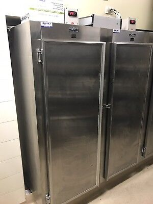 2 x stainless steel upright commercial fridges. want gone Asap