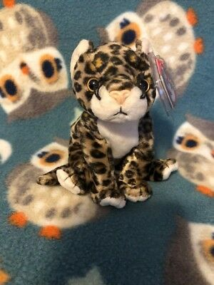 Ty Beanie Baby Babies Sneaky The Leopard 2000 Retired