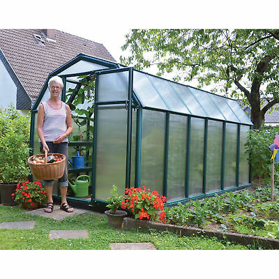 Rion EcoGrow 2 Twin Wall Greenhouse - 6ft. x 12ft., Model# HG7012