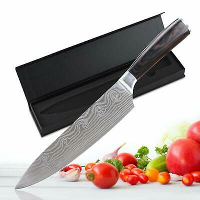"8"" inch Chef Knives Damascus Handle Kitchen Knife Professional Tool Home Pro"
