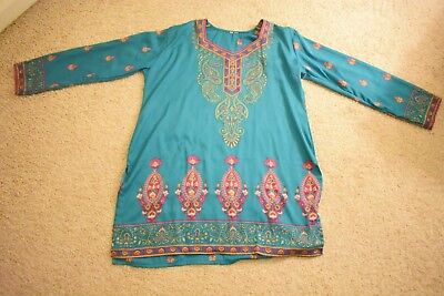 Teal Colored Kurti