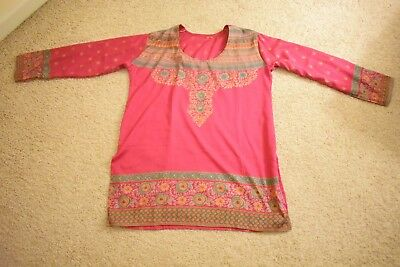 Magenta Colored Kurti