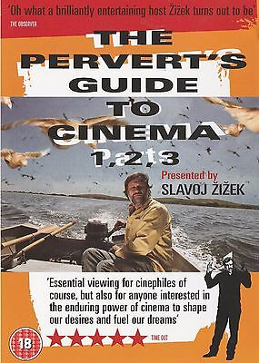 THE PERVERT'S GUIDE TO CINEMA PART 1,2, 3 (2006) Slavoj Zizek ALL REG SEALED DVD