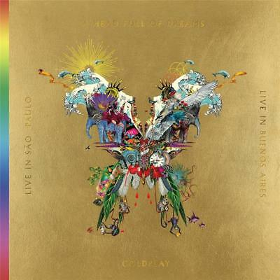 Coldplay Live in Sao Paulo & Live in Buenos Aires DIGIPAK 2 CD & 2 DVD NTSC NEW