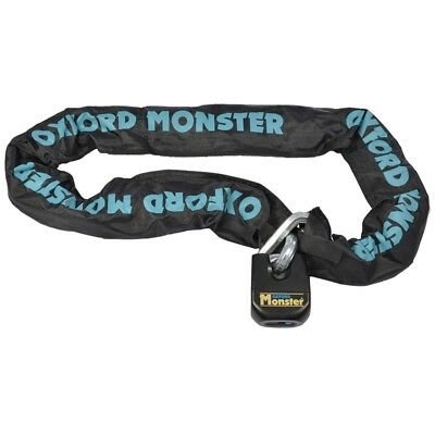 Monster Chainlock - Exagonal chain with lock - 2000 x 14 mm OXFORD motorcycle