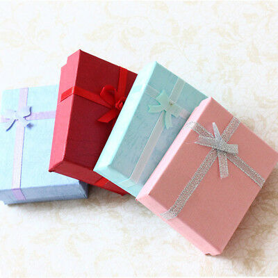 6/12/18x Wholesale Jewellery Gift Boxes Necklace Bracelet Ring Christmas Favour