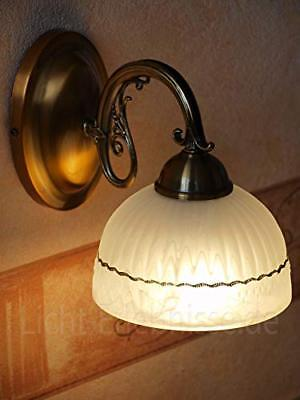 Lámpara de pared 1 luz estilo modernista Lámpara de pared