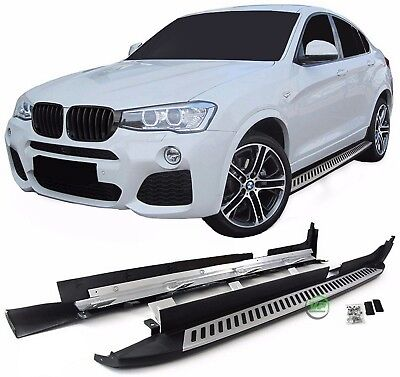 BMW X4  F26 2014- 2018 New Running Boards Side Steps Original OE style