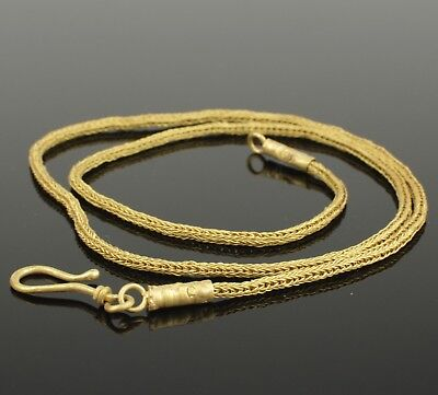 ANCIENT ROMAN GOLD NECKLACE - 2nd Century AD 824