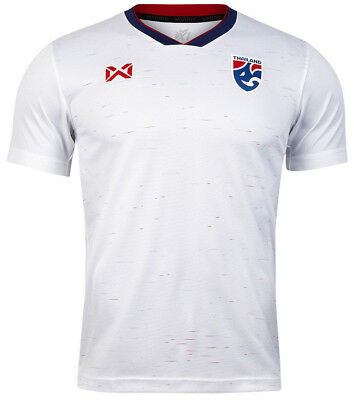 87fe9ad9ac6 100% Authentic Original 2019 Thailand National Football Soccer Team Jersey  White