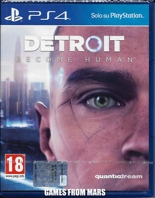Detroit Become Human Ps4 Nuovo Italiano