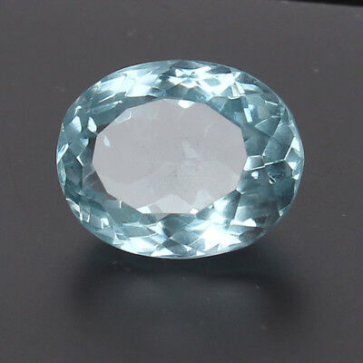 18.60 Ct. Natural Aquamarine Greenish Blue Color Oval Cut Certified Loose Gems
