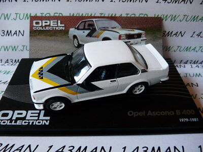 OPE87R voiture 1/43 IXO eagle moss OPEL collection : Ascona B 400 1979/1981