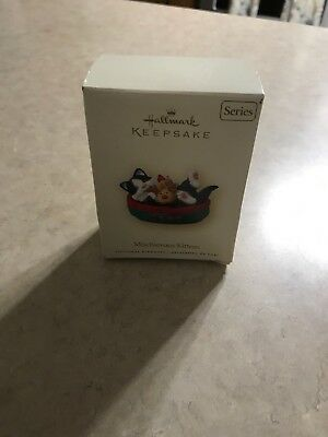 NEW 2007 Hallmark Keepsake Ornament MISCHIEVOUS KITTENS Ninth (9th) in Series