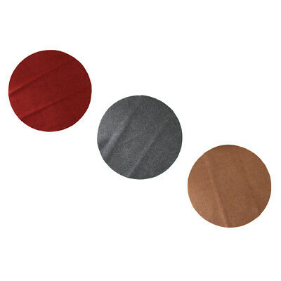 Round Electronic Drum Carpet Mat Non-Slip for Bass Jazz Drum Players Lovers