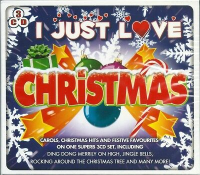 I Just Love Christmas (2013) BOX 3 CD NUOVO Elvis Presley, Glenn Miller, Percy F