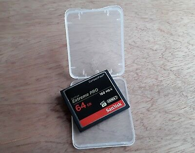 SanDisk Extreme PRO 64GB Compact Flash Memory Card 64 GB CF