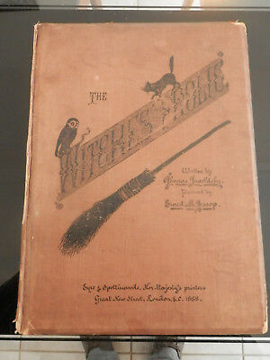 The Witches Frolic 1888 Par Thomas Ingoldsby Edition Originale Et Rare