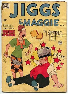 Jiggs and Maggie #14 1950- Bringing Up Father VG-