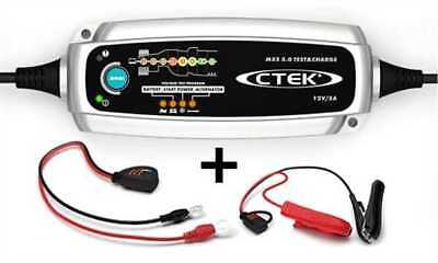 Ctek Chargeur de Batterie Mxs 5.0 Test & Lot 12V 0,8/5,0 A