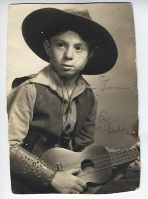 CARL ALFALFA SWITZER Signed Autograph Photo  LITTLE RASCALS inscribed  OUR GANG
