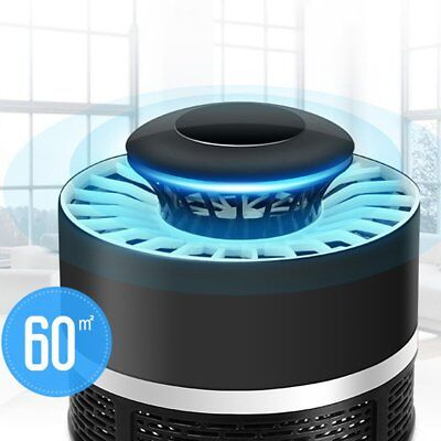 USB LED Powered UV Lamp Light Fly Insect Bug Mosquito Killing Zapper Killer 6 2X