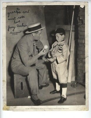JERRY TUCKER 1933 SIGNED PHOTO OUR GANG Little Rascals Hal Roach VERY YOUNG!!!!