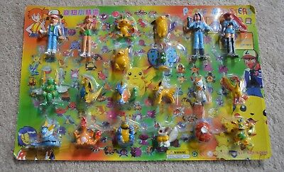 IN BOX  Pokemon 20 Figures - Pocket Monsters  in packaging