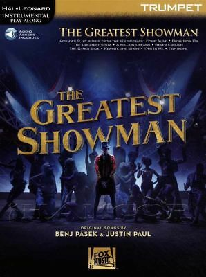 The Greatest Showman for Trumpet Instrumental Play-Along Sheet Music Book/Audio