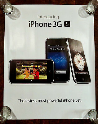 """Apple """"Introducing iPhone 3GS"""" Poster"""