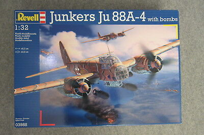 Revell Ju 88 A-4 with bombs, #03988, 1:32