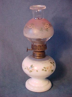 "Historic ""nellie Bly""  Miniature Gwtw Oil Lamp Night Light Burner P&a Hornet"