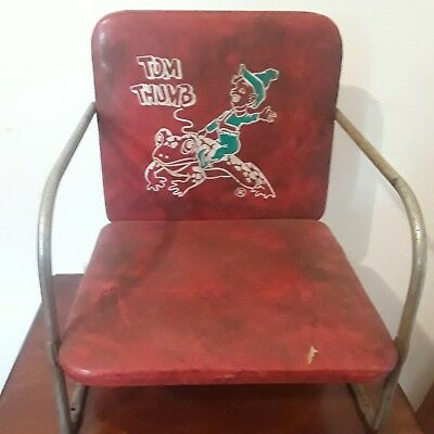 Tom Thumb Child Barber Booster Seat (1950s)