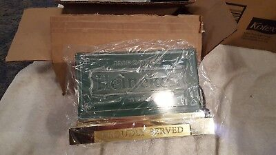 NIB Imported Heineken Beer Proudly Served Lighted Bar / Table Sign